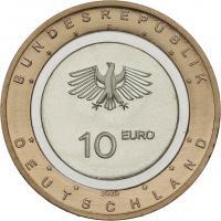 Deutschland 10 Euro 2020 An Land prfr