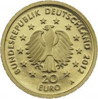 Deutschland 20 Euro 2012 Fichte (Gold)