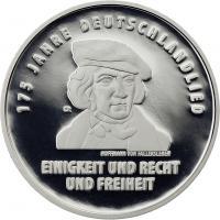Deutschland 20 Euro 2016 175 Jahre Deutschlandlied PP
