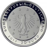 Deutschland 20 Euro 2017 50 Jahre Deutsche Sporthilfe PP