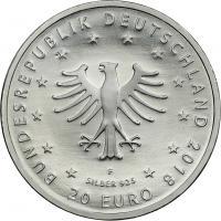 Deutschland 20 Euro 2018 Froschkönig prfr