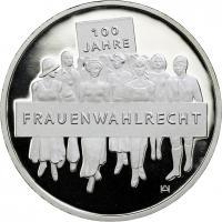 Deutschland 20 Euro 2019 100 J. Frauenwahlrecht PP
