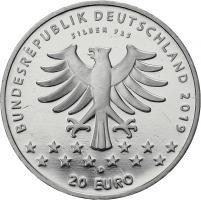 Deutschland 20 Euro 2019 100 J. Frauenwahlrecht prfr