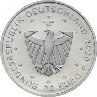 Deutschland 20 Euro 2020 900 Jahre Freiburg prfr