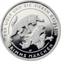 Deutschland 20 Euro 2020 Der Wolf und die sieben Geißlein PP