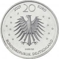 Deutschland 20 Euro 2021 Frau Holle prfr