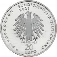 Deutschland 20 Euro 2021 Sebastian Kneipp prfr