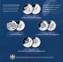 Deutschland 20-Euro-Sammlermünzenset 2020 PP
