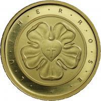 Deutschland 50 Euro 2017 Lutherrose (Gold)