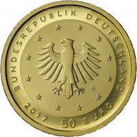 Deutschland 50 Euro 2017 G Lutherrose (Gold)