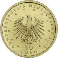 Deutschland 50 Euro 2018 Kontrabass (Gold)