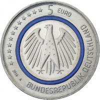Deutschland 5 Euro 2016 Planet Erde prfr