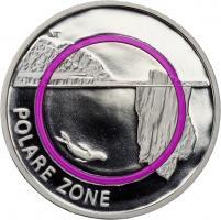 Deutschland 5 Euro 2021 Polare Zone PP