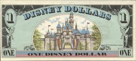 Disney 1 Dollar 1987-1991 Dornröschen Schloß (1)