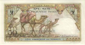 Djibouti P.25 50 Francs (1952) (1/1-)