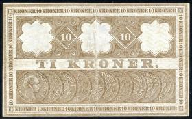 Dänemark / Denmark P.07i 10 Kroner 1910 (2)