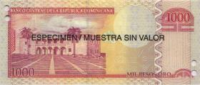 Dom. Republik/Dominican Republic P.180s 2006 Pesos Oro 2006 SPECIMEN (1)