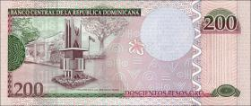 Dom. Republik/Dominican Republic P.185 200 Pesos Dominicanos 2013