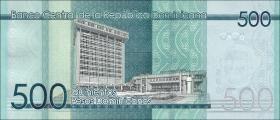 Dom. Republik/Dominican Republic P.neu 500 Pesos Dominicanos 2017 (1)