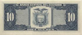 Ecuador P.114b 10 Sucres 1980 (1)