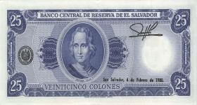 El Salvador P.130a 25 Colones 1978 (1)