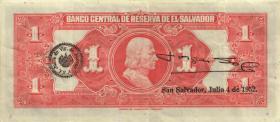 El Salvador P.083 1 Colon 1949 (3)