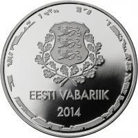 Estland 10 Euro 2014 Oly Sotschi
