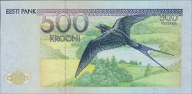 Estland / Estonia P.75a 500 Kronen 1991 (1)
