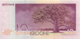Estland / Estonia P.72a 10 Kronen 1991 (1)