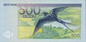 Estland / Estonia P.81a 500 Kronen 1996 (1)