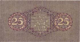 Estland / Estonia P.54a 25 Marka 1922 (3)