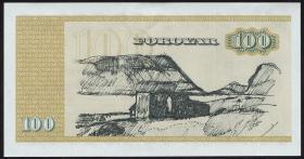 Färöer Inseln / Faeroe Is. P.21a 100 Kronen 1978 (1)