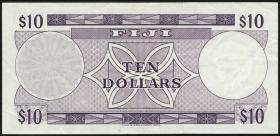 Fiji Inseln / Fiji Islands P.074c 10 Dollars (1974) (3)