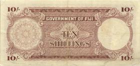 Fiji Inseln / Fiji Islands P.052d 10 Shillings 1964 (3)