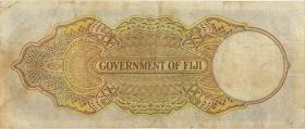 Fiji Inseln / Fiji Islands P.037c 5 Shillings 1940 (3-)