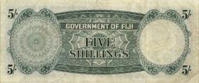 Fiji Inseln / Fiji Islands P.051c 5 Shillings 1962 (3)