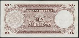 Fiji Inseln / Fiji Islands P.052d 10 Shillings 1964 (2)