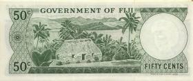 Fiji Inseln / Fiji Islands P.064b 50 Cents (1971) (1)