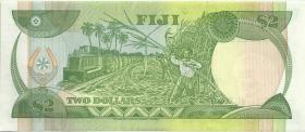 Fiji Inseln / Fiji Islands P.090 2 Dollars (1989) (2)