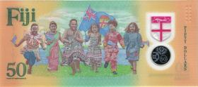 Fiji Inseln / Fiji Islands 50 Dollars 2020 Gedenkbanknote Polymer (1)