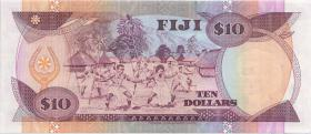 Fiji Inseln / Fiji Islands P.094 10 Dollars (1992) (1)