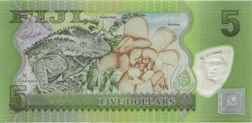 Fiji Inseln / Fiji Islands P.115r 5 Dollars (2012) ZZA (1)
