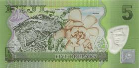 Fiji Inseln / Fiji Islands P.115r 5 Dollars (2012) ZZA (1)