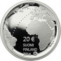 Finnland 20 Euro 2014 Ilmari Tapiovaara