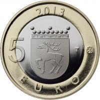 Finnland 5 Euro 2013 Aland / Leuchtturm PP