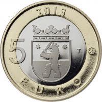 Finnland 5 Euro 2013 Satakunta / Steingräber PP