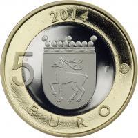 Finnland 5 Euro 2014 Aland / Seeadler PP