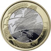 Finnland 5 Euro 2014 Nordische Natur PP
