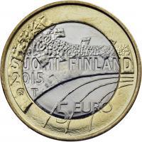 Finnland 5 Euro 2015 Gymnastik