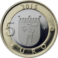 Finnland 5 Euro 2015 Lappland / Rentier PP